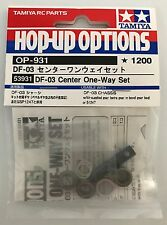 Tamiya 53931 DF-03 Center One-Way Set (DF03/DF03Ra) NIP