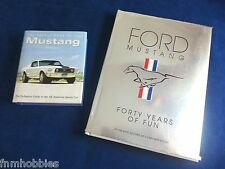 Book: Ford Mustang & Pocket book of the Mustang - Forty Years of Fun - 2 Books