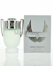 Invictus AQUA by Paco Rabanne For Men 3.4 oz /100 ML Eau De Toilette Spray