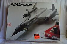 NEW TESTORS LOCKHEED YF 12A INTERCEPTOR PLANE 1/48 SCALE 588 MODEL KIT FREE SHIP