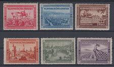Croatia NDH Uruguay-Montevideo edition Zagreb,Split,Siroki Brijeg,Sarajevo 1951