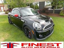 Mini: Cooper COUPE JOHN COOPER WORKS WARRANTY 6-SPD 208HP TURBO