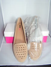 JUST FAB ~ BEIGE LOAFERS/BALLET PUMPS/ FLATTIES/ SHOES SIZE UK 9 (42) BNIB
