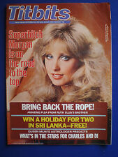 Titbits Magazine - Morgan Fairchild, Robert Wagner        26th Sept. 1981