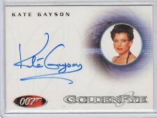 James Bond in Motion Kate Gayson auto card