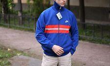 Vintage 80's Nike Tracksuit Top Track Jacket Size L Made in Japan Color Blue