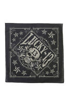 Lucky 13 bandana TOMBSTONE skull and stars logo Motorcycle Biker Hot Rod Tattoo