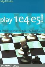 Play 1e4 e5: A Complete Repertoire for Black in the Open Games (Everyman Chess),
