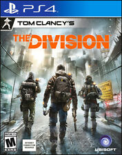 Tom Clancy's The Division -(Sony PlayStation 4) Ps4  Video Games 2016 NEW