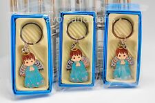 12 PCS Angel Boy Keychain Favors Baptism Communion Christening Bautizo Llaveros