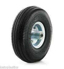 "10"" PU Wheelbarrow Wheel 4.10 / 3.50 - 4 OFF SET 16MM Bearing Puncture Proof"