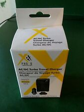 Photo Xit AC/DC Travel Charger for Canon NB 6L European Adapter Car Wall