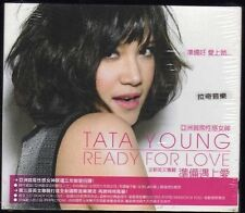 Tata Young: Ready for love (2009) CD SLIPCOVER TAIWAN