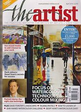 THE ARTIST APRIL 2014, THE PRACTICAL MAGAZINE FOR ARTISTS BY ARTIST.