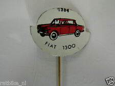 PINS,SPELDJES JAREN 1964 RED CLASSIC CARS FIAT 1300 VINTAGE VERY OLD