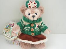 2015 Tokyo Disney Sea Christmas Shellie May Bear keychain badge Japan exclusive