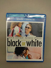 Black or White (Blu-ray Disc, 2015), Used, Disc=Near Mint, Case=Good