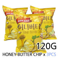 New HaiTai Honey Butter Chip 120g X 3Pcs Korea an Popular Potato Snack