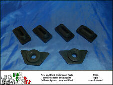 MOTO GUZZI V35 / V50 / V65  SIDE PANEL MOUNTING RUBBERS - 2 PANELS
