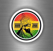 Sticker car decal rasta reggae JAH macbook lion of judah one love rastafarai r19