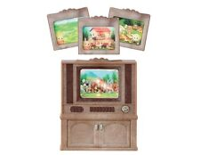 Sylvanian Families - Deluxe TV Set - Brand New