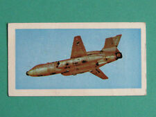 BASSETT 1970 UFO CARD. No 5. RECONNAISSANCE JET.  GERRY ANDERSON CULT TV SERIES