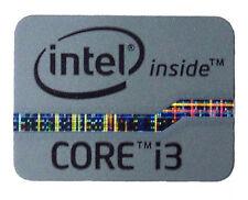 INTEL CORE i3  GREY STICKER LOGO AUFKLEBER 21x16mm (102)
