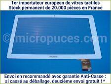"""Vitre tactile * NEUVE * blanche pour tablette 10,1"""" ARCHOS 101 Magnus (16947)"""