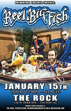 REEL BIG FISH 2014 TUSCON CONCERT TOUR POSTER - Group In Jaccuzi, Ska Punk Music