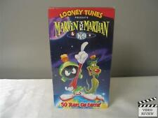 Marvin the Martian & K-9: 50 Years on Earth (VHS, 1998) Animated
