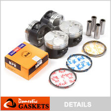 94-00 Honda Civic 1.6L DOHC High Performance Pistons and Ring Set B16A2