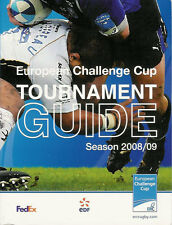 European Challenge Cup Rugby Guide multimédia 2008 / 9