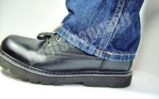 BIKER / MOTORCYCLE ELASTIC FRONT CLIP BOOT STRAPS, HOLDS PANTS DOWN WHILE RIDING