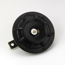 1X Black 12V Super Loud Compact Electric Blast Tone Horn for MOTORCYCLE Chopper
