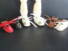 3 pairs of LOULOTTE® Doll Leather shoes - Discount 20% -Made in France G BRAVOT