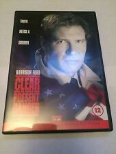 Clear And Present Danger (DVD, 2000) harrison ford, region 2 uk dvd