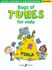 Bags Of Tunes for Viola Instrumental Solo Beginner Learn Play FABER Music BOOK