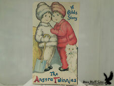 Antique The Angora Twinnies A Childs Story Illus. Margaret Evans Price 1915
