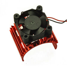 RC EP Electric 1/10 Car 540 Motor Upgrade Alloyheat With Fan Heatsink Cooler red