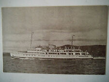 M V Royal Sovereign Built 1948 Old Postcard The General Steam Navigation Co