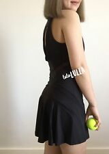 NWT Lululemon Love All Dress Tennis - black - size 6