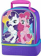 MY LITTLE PONY LUNCH TOTE BAG BOX KIT BY THERMOS DUAL COMPARTMENTS NEW