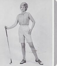1970s AD SHEET #2801 - HARBURT ETONIC WOMENS GOLF CLOTHING - EASETTA BERMUDAS