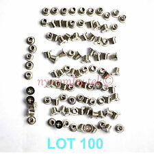 Lot 100 Hard Disk Drive Caddy Screws for HP DELL IBM Compaq Laptop Notebook