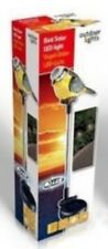 TUTEUR PLANTE LAMPE SOLAIRE DECORATION EXTERIEUR LED OISEAUX DECO BASSIN NEUF 40