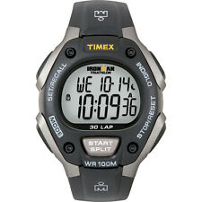 Timex Ironman T5E901 Triathlon 30 Lap Grey/Black Watch with Indiglo Night Light
