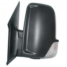 VW CRAFTER 2006-2013 BLACK MANUAL DOOR WING MIRROR PASSENGER SIDE LEFT