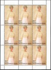 Niger 1997 Diana, Princess of Wales/Royalty/People 9v sht ref:b9015