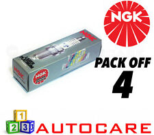 NGK Laser Platinum Spark Plug set - 4 Pack - Part Number: BKR6EQUP No. 3199 4pk