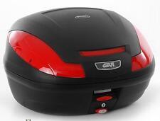 GIVI Monolock Topcase E470 Simply III, schwarzmatt, inkl. Adapterplatte E470N